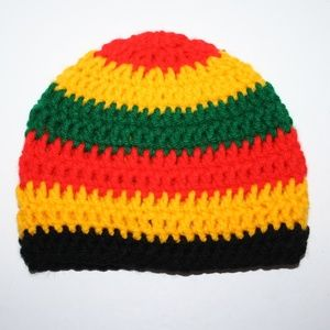 Rasta Beanie for 3-6 month old NwT